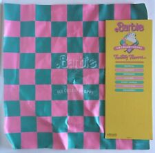 Barbie Ice Cream Shoppe Diorama Replacement Floor Mat and Sign