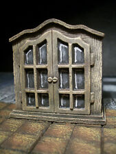 Cabinet with Glass Doors Thomarillion Unpainted Terrain D&D Dwarven Forge