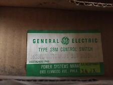NEW GENERAL ELECTRIC 16SBMD4A87S1F1P1 380 28354 2 TYPE SBM CONTRO SWITCH CAM ,YA