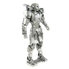 Fascinations Metal Earth 3D Laser Cut Steel Model Kit Marvel War Machine Mark II