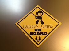 Star Wars 'Baby Leia on Board'   Waterproof vinyl car Sticker decal