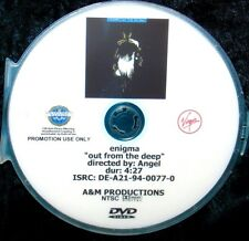 ENIGMA Out From The Deep Record Company Promotional Music Video DVD (NOT A CD)