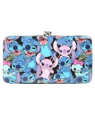Disney Lilo & Stitch Scrump & Angel Kisslock Hinge Wallet Gift New With Tags!