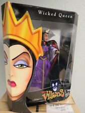 """Evil Queen doll from Snow White, 12"""" Disney Villains collection; NRFB"""