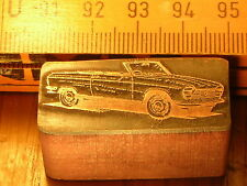 Peugeot 204 CABRIOLET belle Oldtimer CACHET/sceau en métal