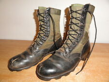 Men's Vtg 60s U.S Army M1966 Vietnam 3rd Pattern Jungle Combat Panama Boots Sz-8