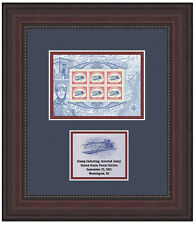 USPS New Stamp Collecting: Inverted Jenny Stamp Framed Art