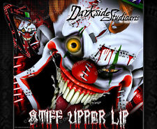 YAMAHA RAPTOR 700 2006-2012 COMPLETE WRAP DECAL GRAPHIC KIT ' STIFF UPPER LIP'