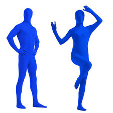 Full Body Bright Lycra Spandex  Zentai Suit Costume Party Skin Tight 7 colors