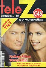 TELE Z N°1776 nathan fillion stana katic