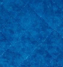 """AQUA BLUE GREEN PRE-QUILTED SINGLE SIDED TERRY CLOTH FABRIC 30"""" X 60"""" WIDE"""