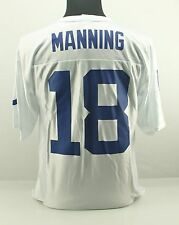 M PEYTON MANNING 18 Indianapolis Colts NFL Team Apparel Football Jersey White