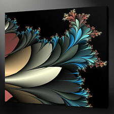 "FLORAL 3D ABSTRACT CANVAS WALL ART PICTURES PRINTS 12""x12"" FREE UK P&P"