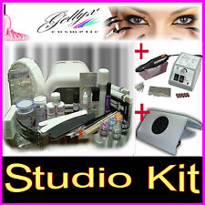 Ongles Set Kit, Manucure. Gel UV lampe. Base Modelage Finition  5 x UV-Gel !!!b.
