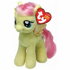 TY BEANIE - FLUTTERSHY  - MY LITTLE PONY  SOFT PLUSH TOY - 7 INCHES ( 18CM)