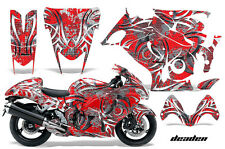 Amr Racing Graphic Kit Suzuki GSXR 1300 Hayabusa GSX Busa Bike Decal Wrap DEAD R