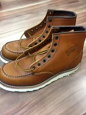 "NIB 10875 Red Wing Classic Moc 6"" Boot MADE IN USA SIZE 9.5D"