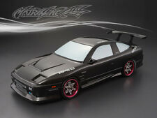 1/10 Nissan 180SX 195mm RC Car Carbon-Printing Body