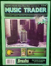 MUSIC TRADER ISSUE Number 5, APRIL 1995 a GENE SIMMONS LIMITED EDITION AXE BASS