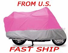Motorcycle Cover Harley FXD FXDC DYNA SUPER GLIDE X6 Pink Color
