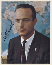 SCOTT CARPENTER Autographed Signed Color Photograph NASA Mercury 7 Astronaut