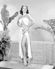 JEAN PETERS  8 X 10 GLOSSY PHOTO #1