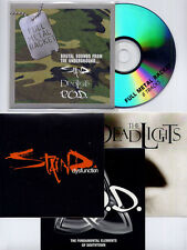 Full Metal Racket Sampler UK 6-trk promo CD + stickers Staind Deadlights P.O.D.