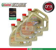 16LT OLIO MOTORE CASTROL EDGE 5W30 FST  TAGLIANDO LONGLIFE (LL) VW 504.00 507.00