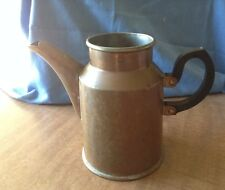 Vintage Copper Coffee Pot No Lid Made In England