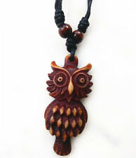 1 PCS Tibet Punk Men's Cool Real Gothic owl Necklace Domineering Pendant