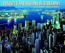 Concepts and Regions in Geography (Geodiscoveries)-ExLibrary