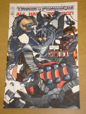 TRANSFORMERS MAXIMUM DINOBOTS #1 RI COVER 2008 IDW NICK ROCHE