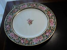 WEDGWOOD BONE CHINA  ENGLAND CLIO GOLD TRIM FLORAL BERRIES  AROUND PLATTER 13.5