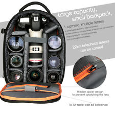 Waterproof Shockproof DSLR SLR Camera Backpack Bag Case for Canon Nikon Sony USA