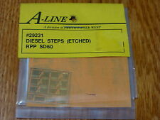 A-Line HO #29231 Diesel Steps (Etched Brass) RPP SD60