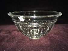 Reed & Barton Crystal Glass 8'' Tempo Bowl Dish New with Tags