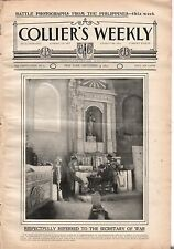 1899 Colliers September 9 - Kansas volunteers in the Philippines; Puerto Rico