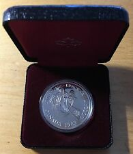 Canada 1983 Silver Dollar, KM-138, Proof, Edmonton University Games