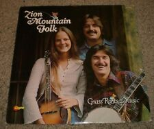 Grass Roots Music Zion Mountain Folk~RARE Private Christain Bluegrass Country