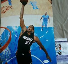 Hassan Whiteside Signed 11x14 in person. JSA CERTIFIED