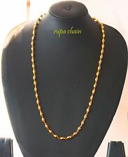 New Fashion Clasp Waves Jewelry gold Yellow Filled   plated Necklace Chain  u30B