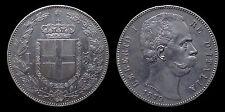 pci1147) Regno d'Italia Umberto I lire 5 scudo 1879