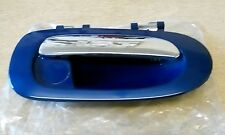 MGTF MGF New Genuine IGNITION  BLUE JFM PASSENGER LHD DOOR HANDLE CHROME LEVER