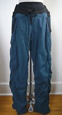 LULULEMON teal black waist Dance Studio Pants Lined size 2 WORN ONCE
