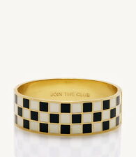 NWT KATE SPADE NEW YORK 'JOIN THE CLUB' WINNER'S RACETRACK IDIOM BANGLE BRACELET