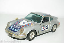 BBURAGO BURAGO MARTOYS 102 PORSCHE 911 CARRERA RS GREY NEAR MINT CONDITION
