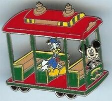 Disney Pin:35 Magical Years Mystery Tin Set Main Street Trolley Donald Mickey