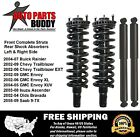2 GM SUV Front Complete Struts + 2 Rear Shocks Lifetime Warranty Free Shipping