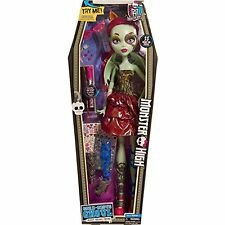 """Monster High 28"""" Beast Freaky Friend, Blue  New   6+  22 Pieces"""