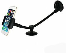 Car Phone Holder, Ipow Dashboard Windshield 13 Inches Long Arm Universal Car 6S